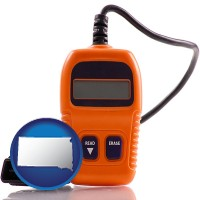 sd map icon and an automobile diagnostic tool